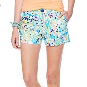 Lily Pulitzer sea soirée Callahan shorts